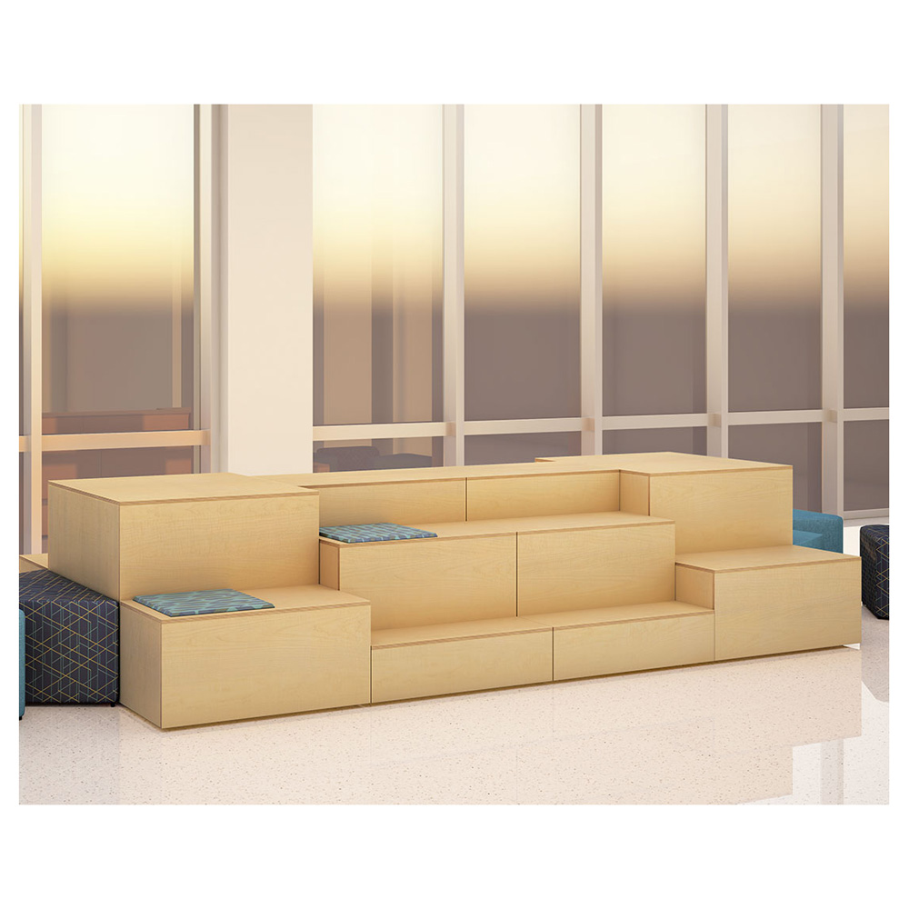 HPFI® Flex Tiered Wood Seating