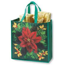 Festive Flora Holiday Tote