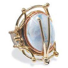 Mystical Moonstone Ring