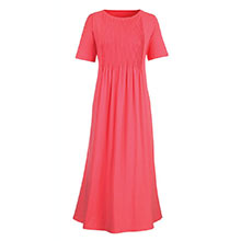 Neat Pleat Dress - Pink