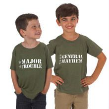 Major Trouble Bootcamp Toddler Tee