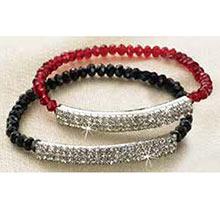 Red Shimmering Bracelet