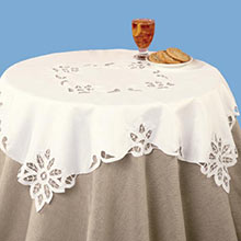 Battenburg Lace Table Linen - Runner