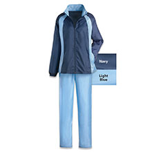 Light Blue Slimming & Sporty Jog Set