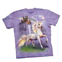 Unicorn Castle Sweet Adult Tee