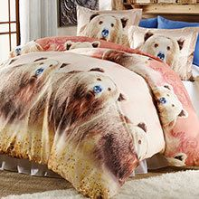 Grizzly Bears Duvet Set