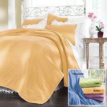 Pastel Fleece Blankets & Accessories
