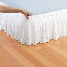 White Royal Lace Bedding Accessories