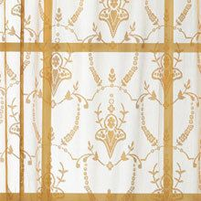 Lacy Leaf Window Panel - 15l Valance