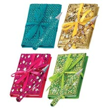 Bejeweled Notebook & Pen Sets