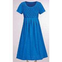 Delightful Diamond Smocked Dress
