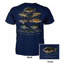 Live To Fish Tee