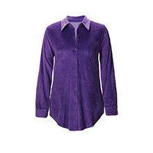 Stretch Velour Shirt