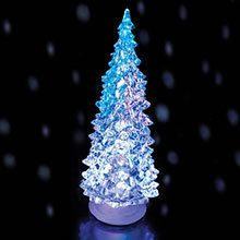 Large Color Changing Christmas Tree