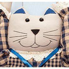 Kitty Plastic Bag Holder