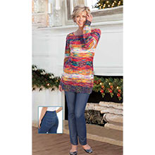 Multi-Color Sweater Tunic