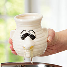 Mr. Sneezy Egg Yolk Separator