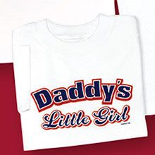 Like Daddy Like Daughter-Toddler Tee