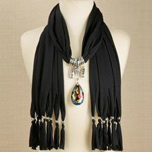 Magnificent Mystic Scarf Pendant with FREE Scarf