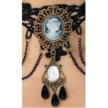 Cameo Lace Necklace