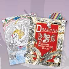 Dragons & Magical Beasts Coloring Book