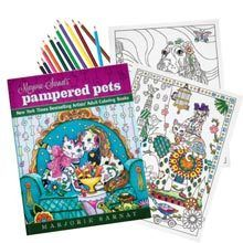 Pampered Pets Coloring Book