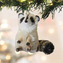Buri Wildlife Ornament - Racoon