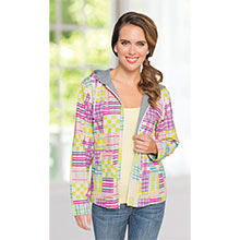 Hooded Patchwork Jacket