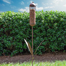 Cattail Bird Feeder