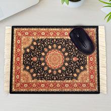 Oriental Rug Mouse Pad-Black