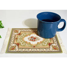 Oriental Rug Mouse Pad-Green