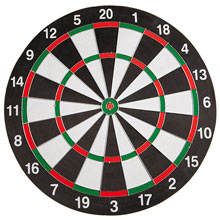 Dart Board W/6 Darts