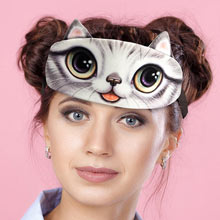 Cat Face Sleep Mask