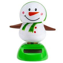Solar Waving Snowman