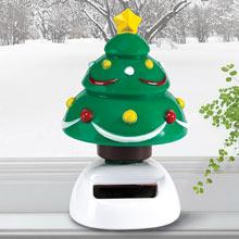 Solar Rocking Christmas Tree