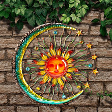 Sun and Moon Wall Decor