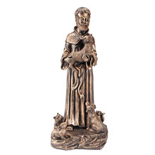 St. Francis With Animals Statue