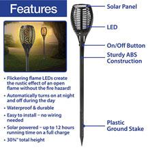 Solar Torch Light Set
