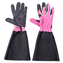 Pruning Gardening Gloves- Pink - Medium