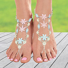 Flower Blossom Barefoot Jewelry
