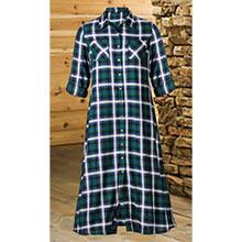 Classic Plaid Dress