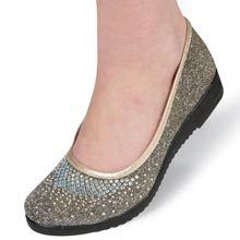 Silver Bling Loafers