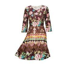 Vintage Patch Dress