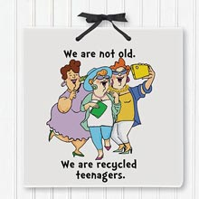 Teenagers Plaque
