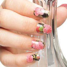 Rose Bouquet Nail Appliquès