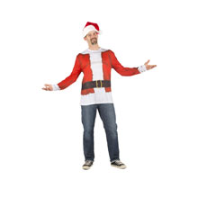 Mr. Claus Long Sleeve Tee