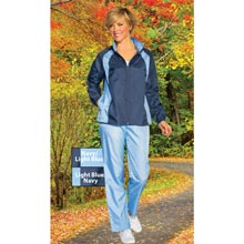 Navy Slimming & Sporty Jog Set