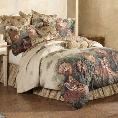Wild Cats Comforter Set