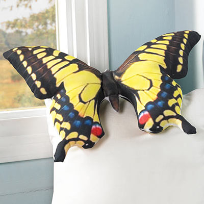 Beautiful Butterfly Pillow