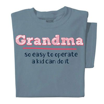 So Easy To Operate-Grandma Tee